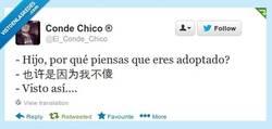 Enlace a Adoptado y muy listo por @El_Conde_chico