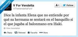 Enlace a Declaraciones de Elenita, la hermanita Por @TheVendettaForV