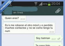 Enlace a Batman en Whatshapp