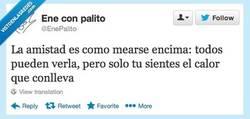 Enlace a La amistad es así por @EnePalito