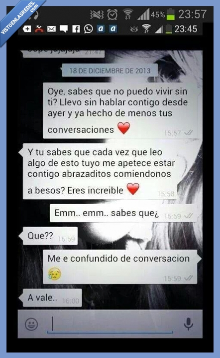 amigo,amor,equivocacion,error,otra,persona,triste,whatsapp