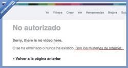 Enlace a ¿Por que no está mi vídeo en VIMEO?