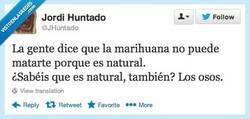 Enlace a La naturaleza nunca nos haría daño por @JHuntado