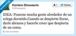 Enlace a Por fin has vuelto, Jose Antonio por @HDinosaurio
