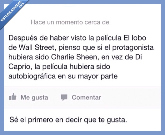 charlie cheen,dicaprio,lobo,wall street