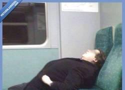 Enlace a Cosas que uno se encuentra en el tren... Se ve cómodo...