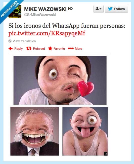 besito,chat,corazon,iconos,lengua,llorar,real,reir,sacar,whatsapp
