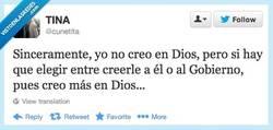 Enlace a Entonces creo en Dios por @cunetita