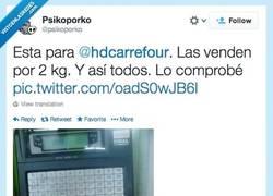 Enlace a 2 kilos de naranjas según Carrefour por @psicoporko