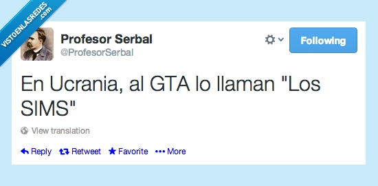 GTA,llamar,normal,Sims,Ucrania,vida,violencia