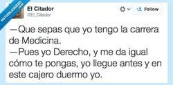 Enlace a Te jodes, llegué primero por @El_Citador