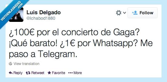 cien,euro,lagy gaga,pagar,telegram,whatsapp