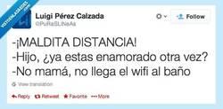 Enlace a Maldita distancia... por @PuRaSLiNeAs