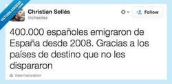 Enlace a Cositas de la inmigración... por @chselles