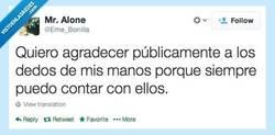 Enlace a Gracias, en serio por @Eme_Bonilla