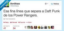 Enlace a Go, go, Power Rangers por @DonDiaza