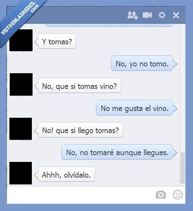 chat,escritura,facebook,ortografía,tomar,Tomas,vino