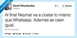 Enlace a El precio de Neymar por @Vilum_