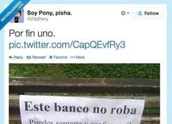 Enlace a Por fin un banco honesto por @ZitoPony