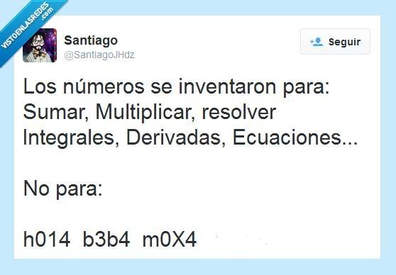canis,derivadas,dividir,ecuaciones,integrales,inventar,multiplicar,números,restar,sumar