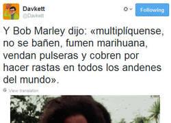 Enlace a Religión Bob Marley por @Davkett