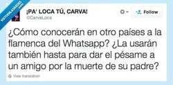 Enlace a Flamenca como respuesta universal por @CarvaLoca
