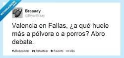 Enlace a Valencia, la ciudad de las ¿Fallas? por @BryanBraay
