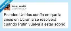 Enlace a Putin tiene que dejar la bebida por @Darkcrow_BCN
