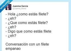 Enlace a Conversación con un filete... por @juanma_rovira