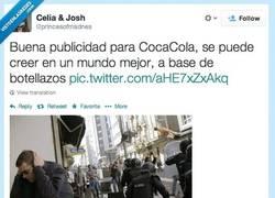 Enlace a Protestas en Galicia, patrocinadas por Coca Cola por @princesofmadnes
