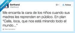 Enlace a Esa carita... por @serthand
