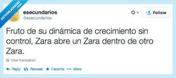 Enlace a Zaraception por @esecundarios