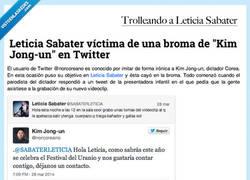 Enlace a @Norcoreano le pega la trolleada padre a @SABATERLETICIA