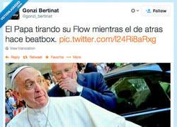 Enlace a Yo, Francis Pope, in da houz por @gonzi_bertinat