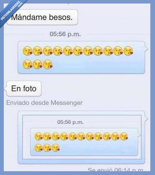 besos,captura de pantalla,emoticono,enviame,foto,tirar,whatsapp