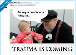 Enlace a Historias de GRR Martin por @grrmartinez
