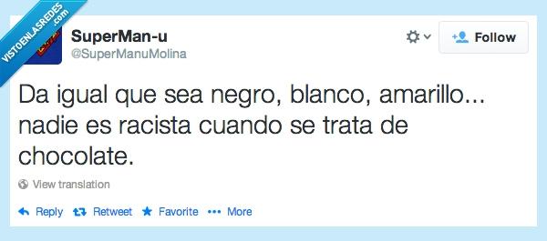amarillo,blanco,chocolate,colores,negro,racismo,racista