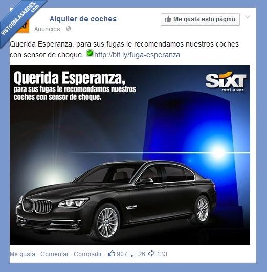 Alquiler de coches,Espe La shungah,Facebook,proximamente en A todo gas 7