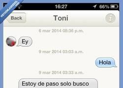 Enlace a Cuidado con Toni, que es un seductor