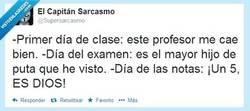 Enlace a El profesor al que más amo por @SuperSarcasmo