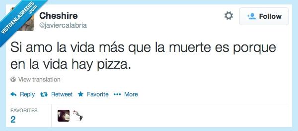 amo,amor,muerte,pizza,vida