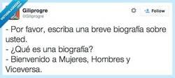 Enlace a Biog.. Biogra... ¿eing? por @giliprogre