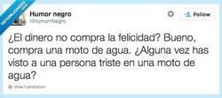 Enlace a Quizás la felicidad no pero... por @HumorrNegro
