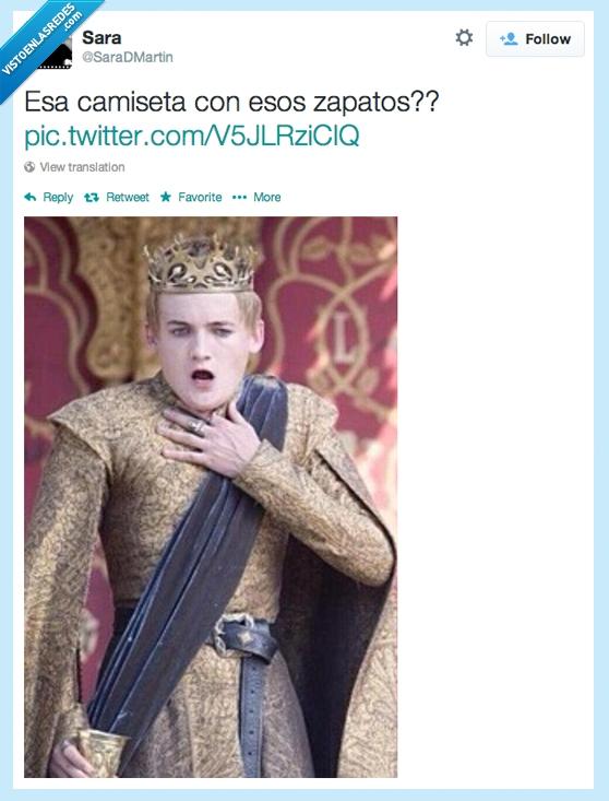 boda purpura,camiseta,combinar,joffrey baratheon,juego de tronos,zapato