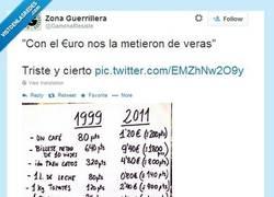Enlace a Con el euro nos timaron por @GamonalResiste