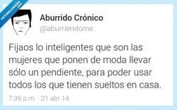 Enlace a La inteligencia femenina es increíble por @aburriendome