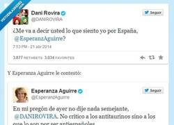 Enlace a @DaniRovira vs @EsperanzAguirre