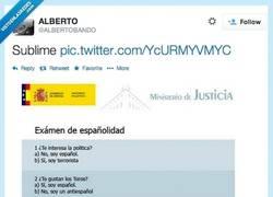 Enlace a Test de españolidad por @AlbertoBando