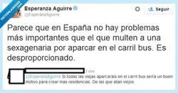 Enlace a Alguien le dice las cosas claras a @EsperanzAguirre