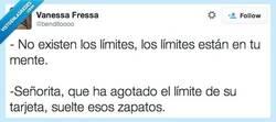 Enlace a No existen límites, seguro por @benditoooo